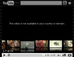 Capture d'écran You Tube